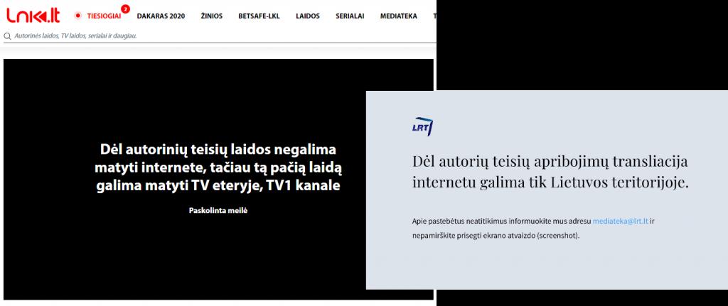 Lietuviškos televizijos blokavimas