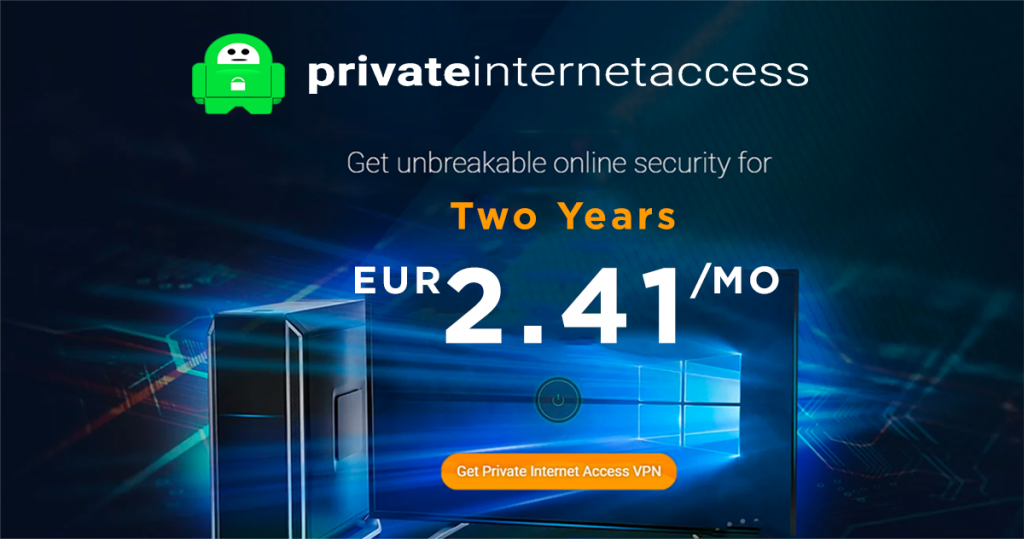 Private Internet Access akcija