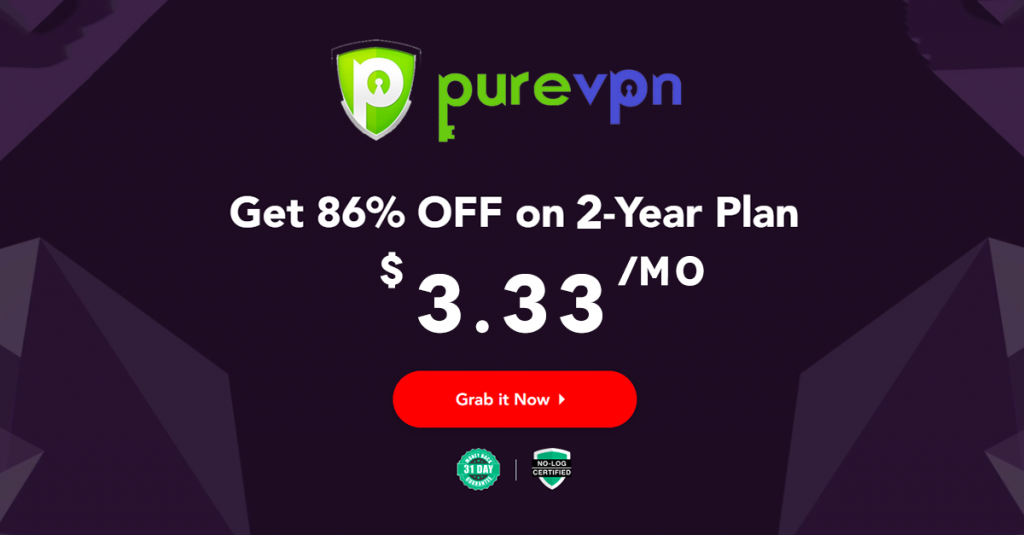 PureVPN akcija