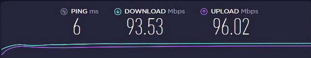 Interneto greičio testas be VPN