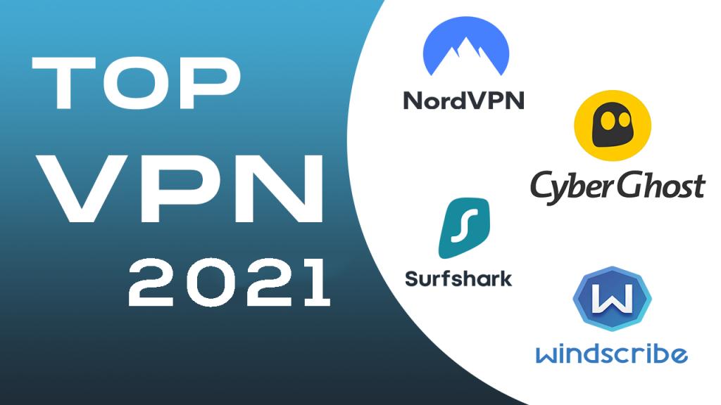 TOP 4 VPN Tiekėjai