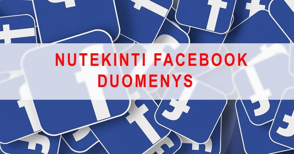 Nutekinti 533 mln. Facebook vartotojų duomenys!